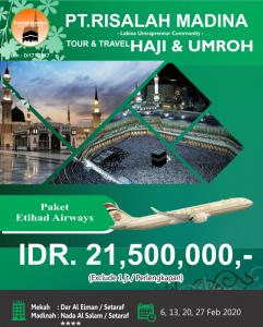Paket Umroh Februari 2020