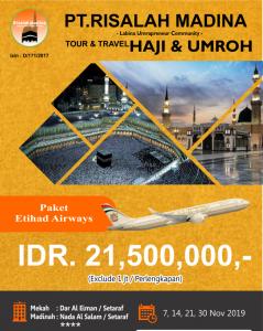 Paket Umroh November 2019